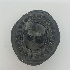 GASOLINE GLAMOUR Jewelry - Deluxe black scorpion ring Swarovski sample
